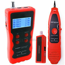 Cable Length Tester Phone Wire Line Tracker USB RJ11 RJ45 Coaxial Cable Tracer