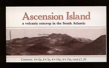 Ascension Islands 1981 SG#SB3 Flowers Stamp Booklet