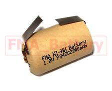 2x Ni-MH Battery 4/5SC 1.2V 2200mAh for Vacuum Cleaner Drill Screwdriver US/RU
