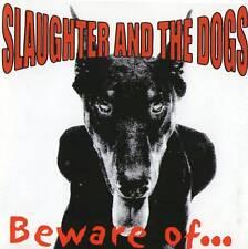 SLAUGHTER & THE DOGS - BEWARE OF... CD (2001) UK KULT-PUNK
