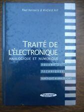 Paul Horowitz & Winfield Hill:Traité de l'électronique analogique et numérique 2