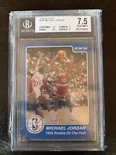 1984-1985 Michael Jordan Star Rookie Card BGS 7.5 Rookie #288 ROY Rookie Of Year