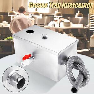 Stanless Steel Grease Trap Interceptor For Restaurant Ktchen Wastewater