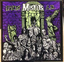 Misfits Earth A.D. GREEN Vinyl Lp Samhain Danzig