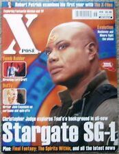 XPOSE #58 STARGATE SG-1 Magazine  Christopher Judge Teal'c