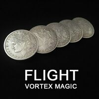 FLIGHT by Michael Afshin & Vortex Magic Coin Magic Tricks Appear/Vanish Magic