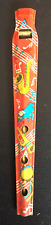 1960's Vintage Unuse Red Tin Lithographed Toy Flute – Japan