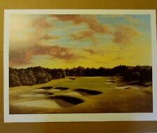 BILL GOFF INC SUNRISE AT SHINNECOCK OFFSET LITHOGRAPH ARTIST SIGNED 153/600