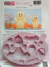 Karen Davies Easter Chicks Sugarcraft Mould Cupcakes Next Day Despatch