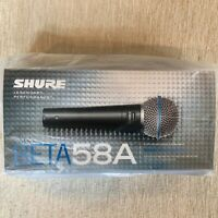 Shure Beta58A Supercardioid Dynamic Microphone New In Box Made In Mexico