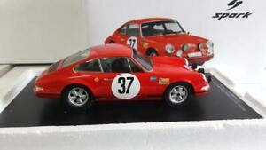 Waldegård Björn Porsche 911 S Rally Monte Carlo 1969 1/18 Rare Spark Monaco