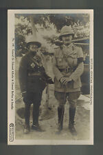 Mint General Allenby Baillot Real Picture Postcard Palestine