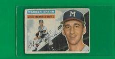 1956 Topps Warren Spahn MIlwaukee Braves #10  🚀😳💥Low Grade