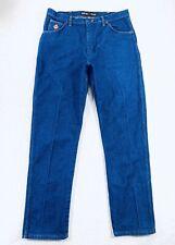 Wrangler FR Jeans Flame Resistant Dark Blue Denim Work Workwear Mens Size 38x34