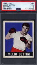 1948 Leaf Boxing #36 Melio Bettini (Bettina) PSA 5 *691175