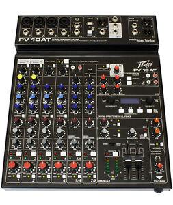 Peavey Mixer PV10 AT (Auto-Tune)