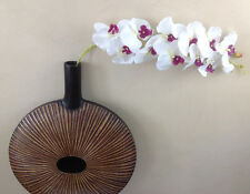 Orchidee-arrangement bianco nel bianchi dekotopf sì artificiale orchidee fiori arte