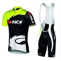 Summer New men Sidi TEAM Cycling JERSEY Quick Dry Ropa Ciclismo Mens MTB
