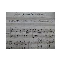 CHAUMONT La De Hijo Joven Veneciana Polka Piano XIX partitura sheet music score