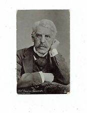 "POST CARD A TUCK ""SILVERETTE"" OF SIR SQUIRE BANCROFT PHOTO LONDON STEREO"