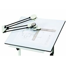 Drafting Machine With Protractor And Articulated Arm clamps Drawing Board Layout