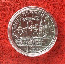 Autriche  - Magnifique 10 €  Argent  2011 - Lindwurm von Klagenfurt - Rare