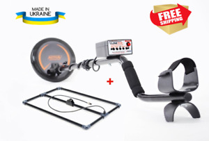 Metal detector CLONE PI-W waterproof coil + depth frame (search depth up to 3m)