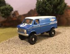 1976 Chevy G20 Van Lifted 4x4 Custom 1/64 Diecast Farm Truck Off Road Yenko