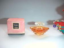 ANCIENNE & JOLIE miniature TRESOR de  LANCOME  pleine + boite  Eau de PARFUM