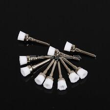 100PCS Dental New Polishing Polisher Prophy Brush Brushes Nylon Latch Flat #1 IT