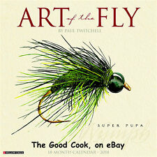 2018  The Art of The Fly  for Fishermen & Tyers of Flies  18 Month Wall Calendar