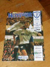 Tottenham Hotspur v Everton Programme December 2 1995 Spurs v Toffees 02-12-95