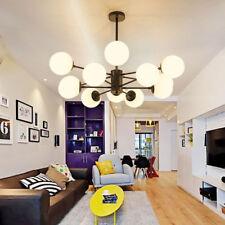 Modern Glass Bubble Ball Pendant Light Industrial Beans Ceiling Lamp Lighting