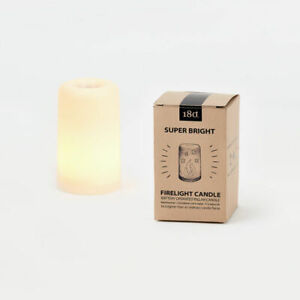 """4.5"""" Fire Candle LED One Hundred 80 Degrees LOOKS LIKE A FLAME Bright EM1988 NEW"""