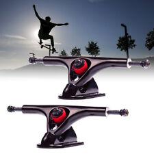 2pcs 180mm 7'' Longboard Trucks 43 Degree Electric Skateboard Hanger Parts Pair