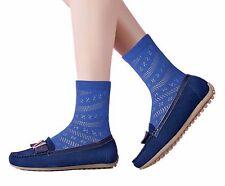 Ladies Seam Free seamless Pointelle maternity ankle socks sensitive swollen feet