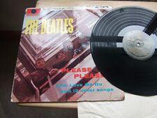 "THE BEATLES ""PLEASE PLEASE ME"" BLACK/GOLD 1963 UK VINYL LP PMC1202 1963 TESTED"
