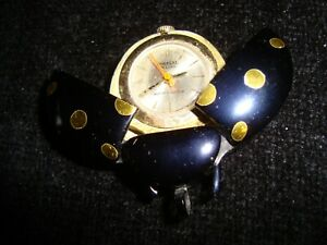 Vintage Ladybird Mechanical Watch Pendant - GWO
