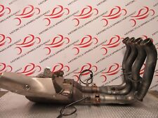 YAMAHA YZF-R1 R1 2CR ABS 2016 EXHAUST DOWNPIPES HEADER & COLLECTOR BOX CAT BK433