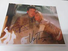 Ben Affleck & Uma Thurman (Paycheck) Autografo 20x25cm con Certificato COA