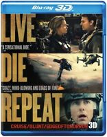 Edge of Tomorrow - Live Die Repeat: Edge of Tomorrow [New Blu-ray 3D] With Blu-R