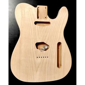 Corps en Aulne 2 pièces style Telecaster non ponce, Unfinished