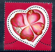 STAMP / TIMBRE FRANCE NEUF N° 3538 ** SAINT VALENTIN / COEUR AVEC TREFLE