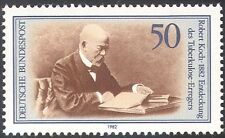 Germany 1982 Robert Koch/Medical/Health/Welfare/TB/Bacteria/People 1v (n42080)