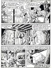 CUISINE CHINOISE (RAOUL GIORDAN) PLANCHE ORIGINALE VIGOR ARTIMA PAGE 27