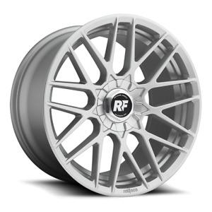 "ROTIFORM RSE 18"" x 8.5 Silver 5x100"