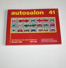 Autokatalog / Autosalon in Buchform Nr. 41 - Autotypen Übersicht Modelle 1986!