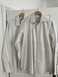 charles tyrwhitt 2 Double Cuff White Shirts 17