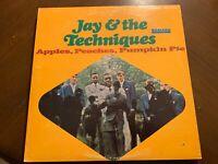 JAY & THE TECHNIQUES APPLES, PEACHES, PUMPKIN PIE VINYL LP SMASH VG+