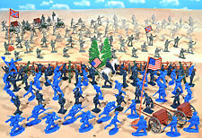 Civil War Playset #2 - Pickett's Charge- 54mm Plastic Toy Soldiers